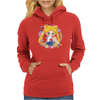 Cute Usagi Pattern Womens Hoodie