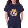 Cute Usagi Pattern Womens Polo