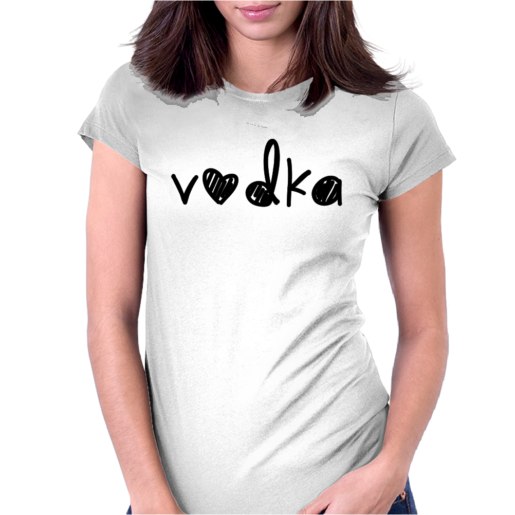 Cute Vodka Womens Fitted T-Shirt