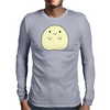 Cute Yellow Creature Mens Long Sleeve T-Shirt