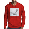 Cutting Lobster tail Mens Hoodie