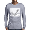 Cutting Lobster tail Mens Long Sleeve T-Shirt