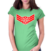 Cyb Elite Guard Badge Womens Fitted T-Shirt