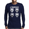 Cyberman KISS Tribute Mens Long Sleeve T-Shirt