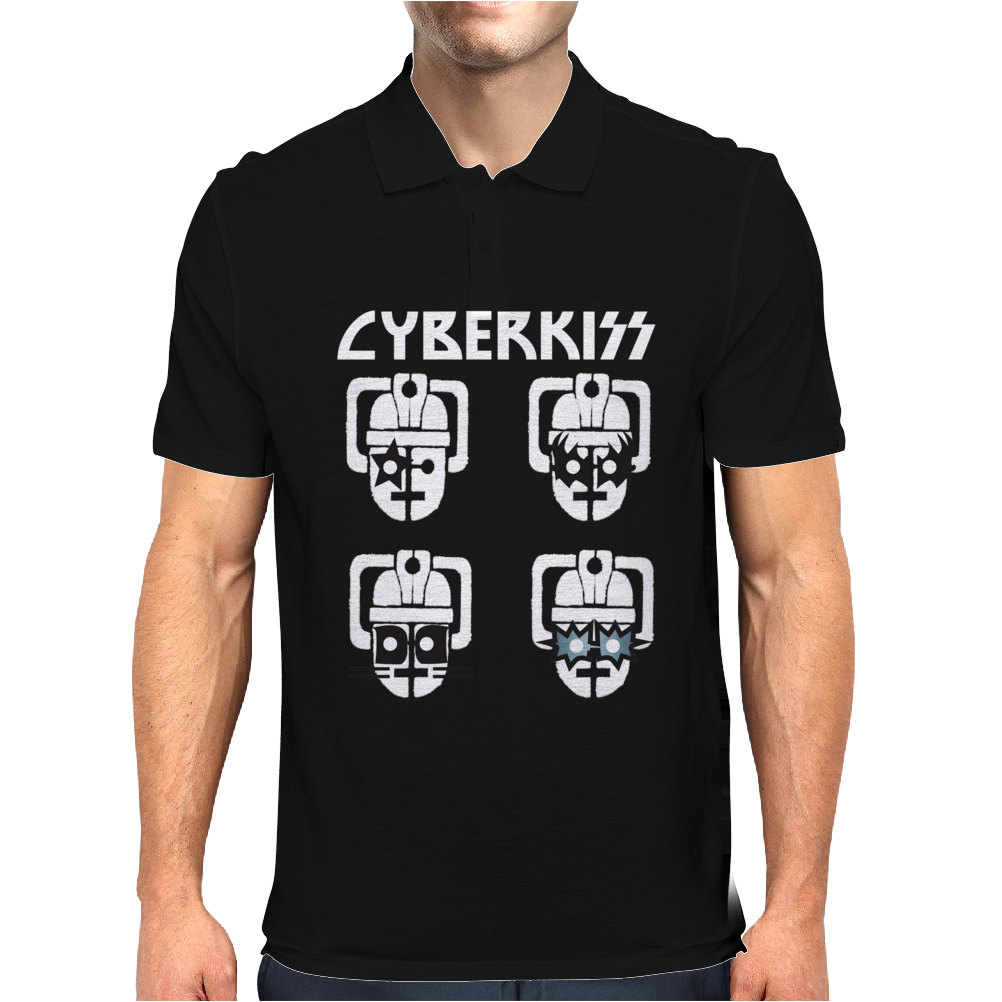 Cyberman KISS Tribute Mens Polo