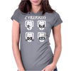 Cyberman KISS Tribute Womens Fitted T-Shirt
