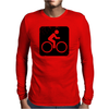 Cycling Mens Long Sleeve T-Shirt