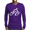 Cyclist Road Bike Biking Mens Long Sleeve T-Shirt