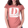 D Block Womens Fitted T-Shirt