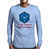 D20 From My Cold Dead Hands Mens Long Sleeve T-Shirt