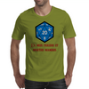 D20 From My Cold Dead Hands Mens T-Shirt