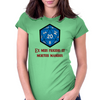 D20 From My Cold Dead Hands Womens Fitted T-Shirt