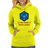 D20 From My Cold Dead Hands Womens Hoodie