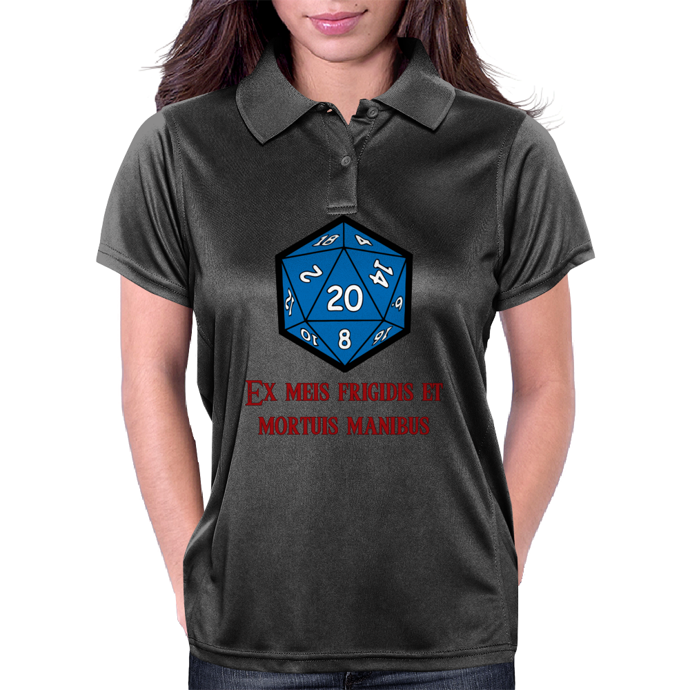 D20 From My Cold Dead Hands Womens Polo