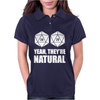 D20 Yeah They're Natural Womens Polo