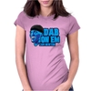 DAB ON EM cam newton vector Womens Fitted T-Shirt