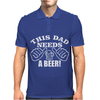 DAD A BEER Mens Polo