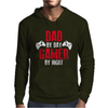 Dad By Day Gamer By Night Gaming Mens Hoodie