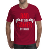 Dad By Day Gamer By Night Gaming Mens T-Shirt