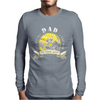 Dad Fishing Legend Mens Long Sleeve T-Shirt