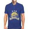 Dad Fishing Legend Mens Polo