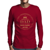 Dad King Of Remote Mens Long Sleeve T-Shirt