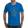 Dad King Of Remote Mens T-Shirt