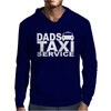 DAD TAXI FUNNY Mens Hoodie