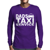 DAD TAXI FUNNY Mens Long Sleeve T-Shirt