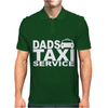 DAD TAXI FUNNY Mens Polo