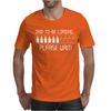Dad To Be Loading Please Wait Mens T-Shirt