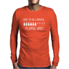 Dad To Be Loading Please Wait New Mens Long Sleeve T-Shirt