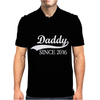 Daddy Since 2016 Mens Polo