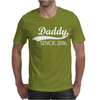 Daddy Since 2016 Mens T-Shirt