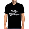 Daddy's Lil Monster Mens Polo