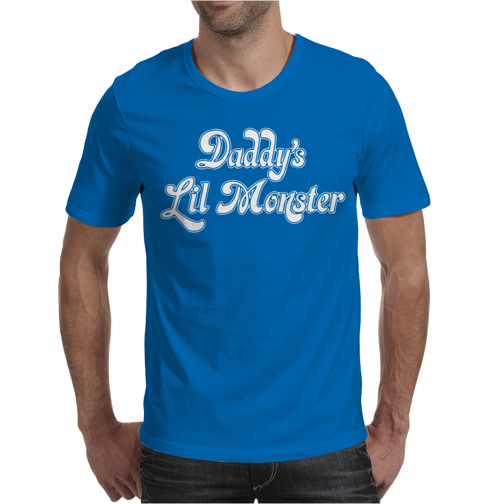Daddy's Lil Monster Mens T-Shirt