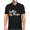 Daddy's Little Monster Mens Polo