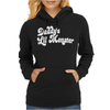 Daddy's Little Monster Womens Hoodie