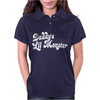 Daddy's Little Monster Womens Polo
