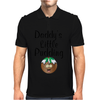 DADDY'S LITTLE PUDDING Mens Polo
