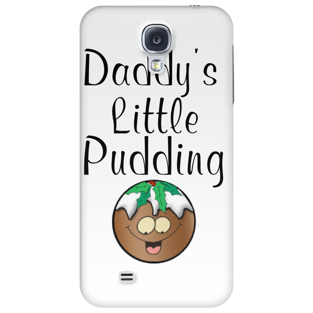 DADDY'S LITTLE PUDDING Phone Case