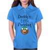 DADDY'S LITTLE PUDDING Womens Polo