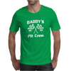 Daddy's Pit Crew racing outfit racecar Mens T-Shirt