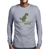 daddysaurus Funny Humor Geek Mens Long Sleeve T-Shirt