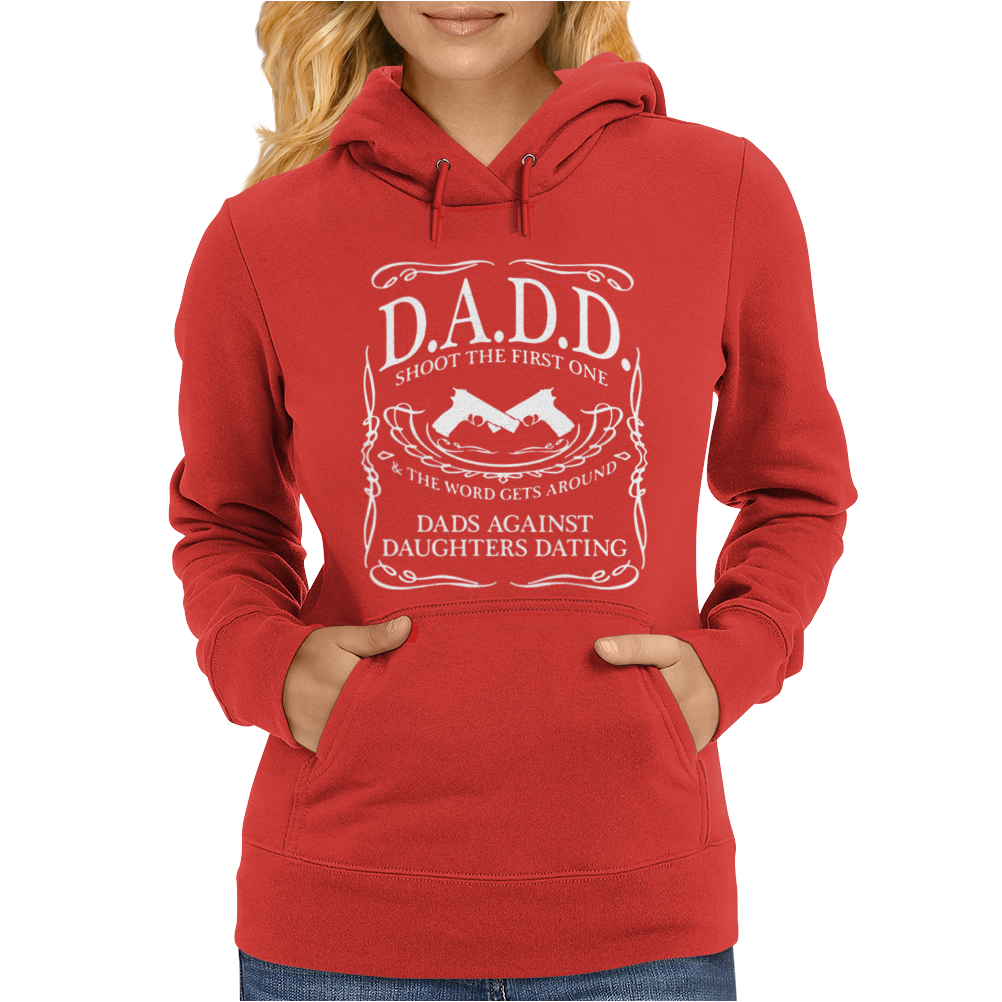 Dads Against Daughter Womens Hoodie