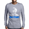 Dads Army Lance Corporal Jack Jones Don't Panic Mens Long Sleeve T-Shirt