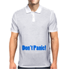 Dads Army Lance Corporal Jack Jones Don't Panic Mens Polo