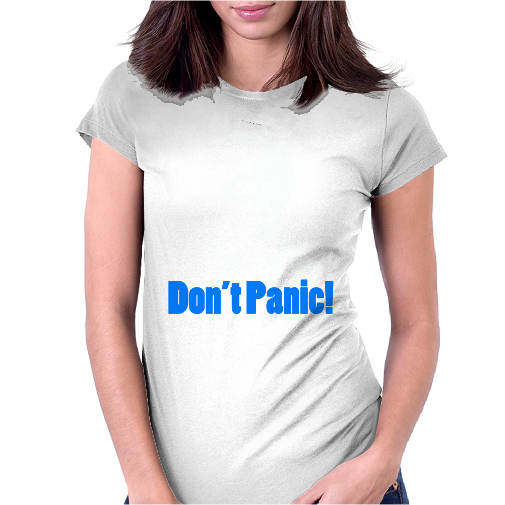 Dads Army Lance Corporal Jack Jones Don't Panic Womens Fitted T-Shirt