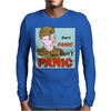 Dad's Army – Lance-Corporal Jones, Don't Panic Mens Long Sleeve T-Shirt