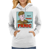 Dad's Army – Lance-Corporal Jones, Don't Panic Womens Hoodie